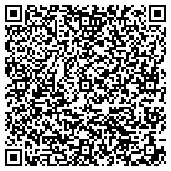 QR-код с контактной информацией организации Юнидорс, ИЧПУП