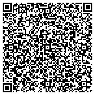 QR-код с контактной информацией организации Салон Matisse