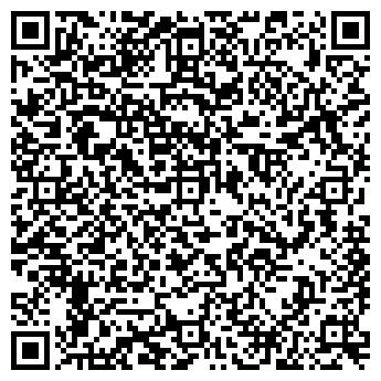 QR-код с контактной информацией организации АлюПластика, ЧП