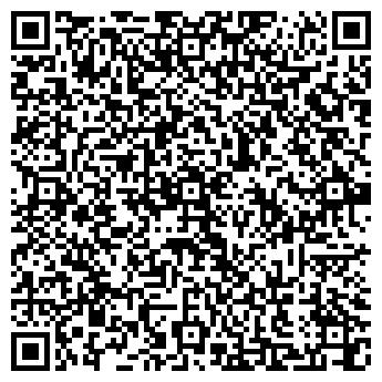 QR-код с контактной информацией организации Хижина, ЧТТУП