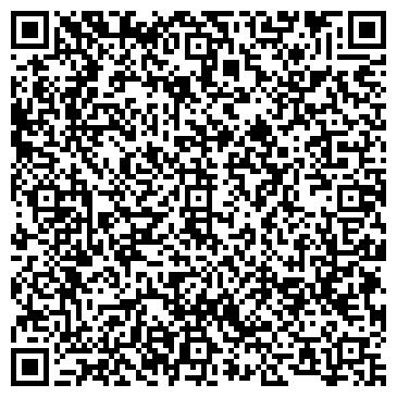 QR-код с контактной информацией организации Королевский сад