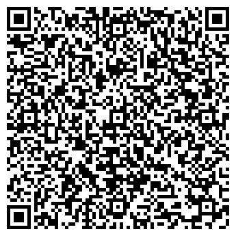 QR-код с контактной информацией организации Метрон Астана
