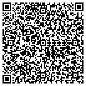 QR-код с контактной информацией организации ТУРБО-СЕРВИС