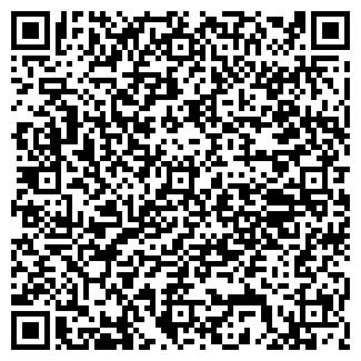 QR-код с контактной информацией организации ХРАМ ВСЕХ СВЯТЫХ
