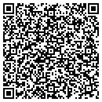 QR-код с контактной информацией организации РЫБА