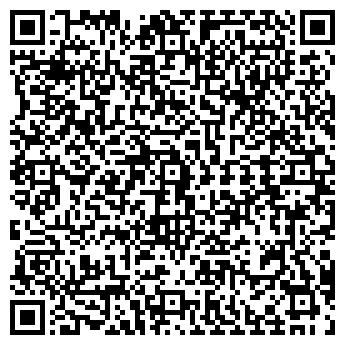 QR-код с контактной информацией организации АВК КОЛОР