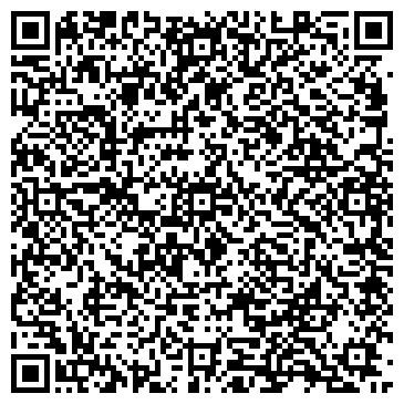 QR-код с контактной информацией организации ООО Фитнес Галс