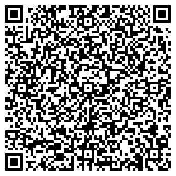 QR-код с контактной информацией организации ООО ДизайнОкно