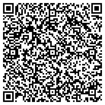 QR-код с контактной информацией организации ООО Мир Фитнеса