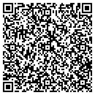 QR-код с контактной информацией организации РЯБИНУШКА, МУП