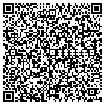 QR-код с контактной информацией организации АЛЕНУШКА КАФЕ