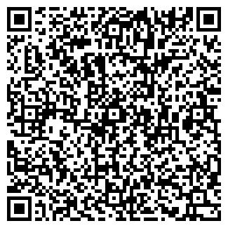 QR-код с контактной информацией организации MON PLAISIR