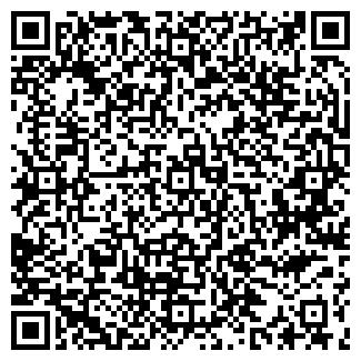 QR-код с контактной информацией организации ПО ТЕННИСУ ДЮСШ