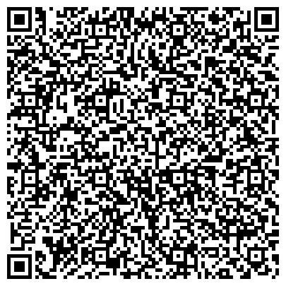 QR-код с контактной информацией организации Международный образовательный центр при «Академическом Лицее»