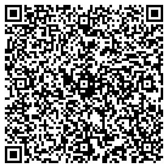QR-код с контактной информацией организации ДЕТСКИЙ КЛУБ ОГОНЕК