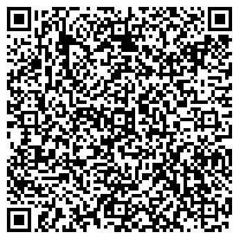 QR-код с контактной информацией организации АКАДЕМИЯ ТЕННИСА ООО