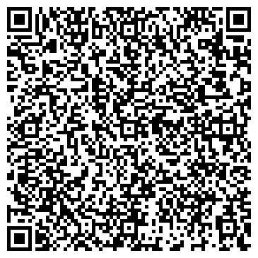 QR-код с контактной информацией организации КИНДЕРПОДИУМ ЖУРНАЛ