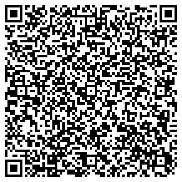QR-код с контактной информацией организации ГЛАСС ДИЗАЙН, ООО