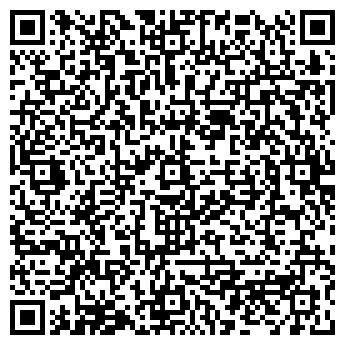 """QR-код с контактной информацией организации Сад бабочек """"Феерия""""."""