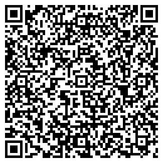 QR-код с контактной информацией организации УРАН, ЗАО