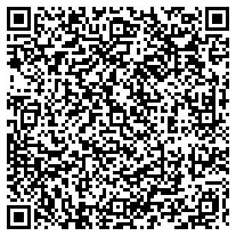 QR-код с контактной информацией организации РАДУГА RELAX-САУНА