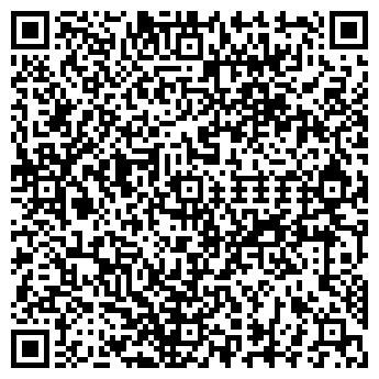 QR-код с контактной информацией организации УДАЧНЫЕ ОКНА