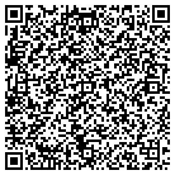 QR-код с контактной информацией организации ИНТЕРПЛЮС