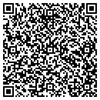 QR-код с контактной информацией организации A&B