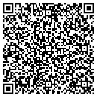 QR-код с контактной информацией организации АЛЕФ ТОО