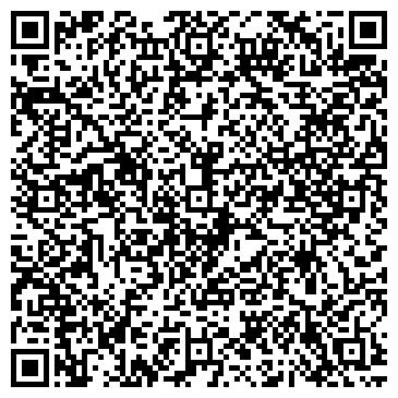 QR-код с контактной информацией организации ЕЛАГИН ОСТРОВ ТЕННИСНЫЙ КЛУБ
