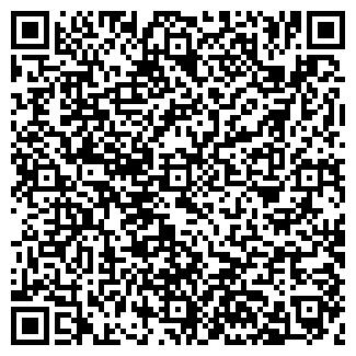 QR-код с контактной информацией организации ХЛЕБ, ЗАО