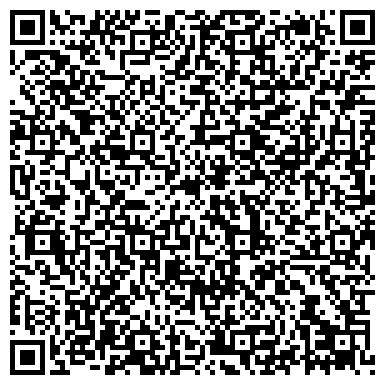 QR-код с контактной информацией организации № 34 ДЕТСКИЙ САД ОТ БРОНЕТАНКОВОГО РЕМОНТНОГО ЗАВОДА