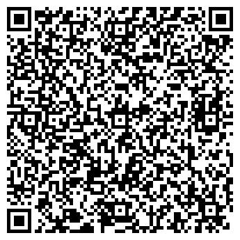 QR-код с контактной информацией организации ИНТЕРЬЕР +, ООО