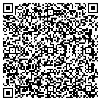 QR-код с контактной информацией организации ИП Магазин Ткани