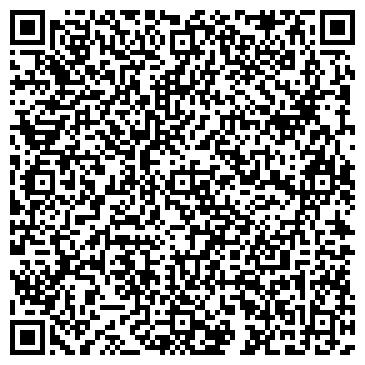 QR-код с контактной информацией организации ПРАВА И ПРЕДПРИНИМАТЕЛЬСТВА ИНСТИТУТ