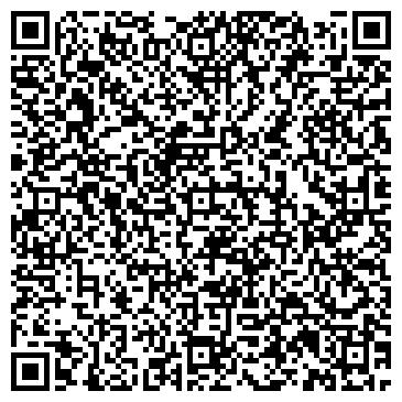 QR-код с контактной информацией организации РИТМ КЛУБ МУ АЛЫЕ ПАРУСА