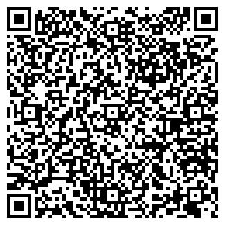 QR-код с контактной информацией организации ЮНА-ПЛЮС