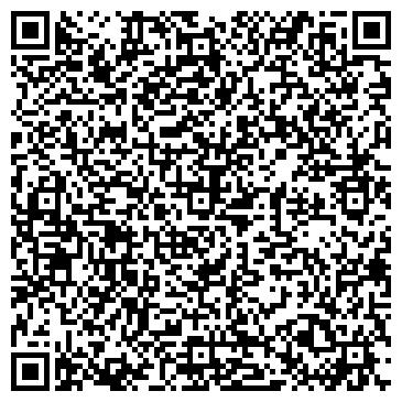QR-код с контактной информацией организации ПОНАРТ РАЗВЛЕКАТЕЛЬНЫЙ КЛУБ