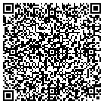 QR-код с контактной информацией организации MATRIX CLUB
