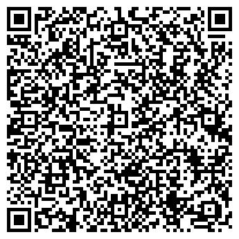 QR-код с контактной информацией организации КИБЕРДА ИНТЕРНЕТ CLUB