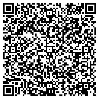 QR-код с контактной информацией организации ПАУЭР-FM