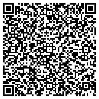 QR-код с контактной информацией организации АЛВИЗ