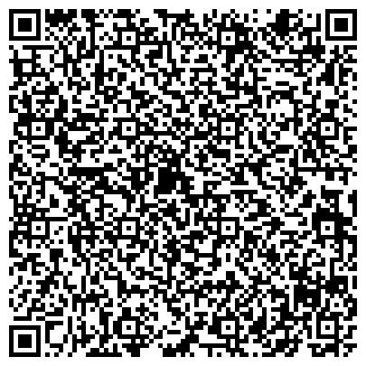 QR-код с контактной информацией организации ПОВЫШЕНИЯ КВАЛИФИКАЦИИ РАБОТНИКОВ ОБРАЗОВАНИЯ ЦЕНТРА ОБЩЕЖИТИЕ