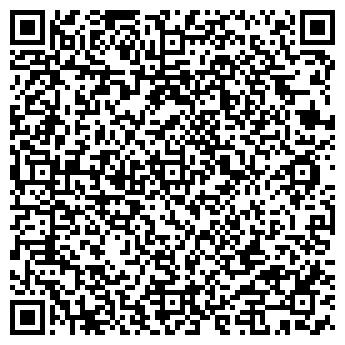 QR-код с контактной информацией организации Serverspace