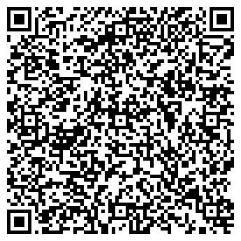 QR-код с контактной информацией организации Постельное белья Postel