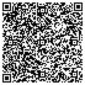 QR-код с контактной информацией организации ООО ИНТЕРФЕЙС