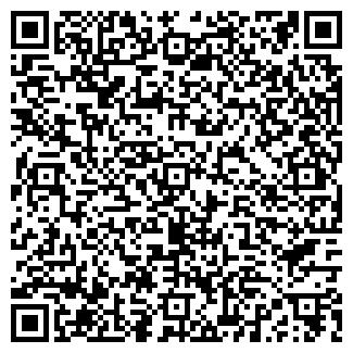 QR-код с контактной информацией организации ООО ЛВС
