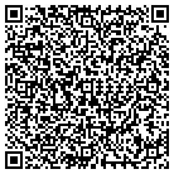 QR-код с контактной информацией организации КЛУБ ЗЕРКАЛО