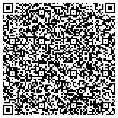 QR-код с контактной информацией организации ВОЕННЫЙ КОМИССАРИАТ ПРОМЫШЛЕННОГО МО