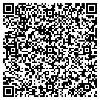 QR-код с контактной информацией организации ВИТРАЖ-ОМСК